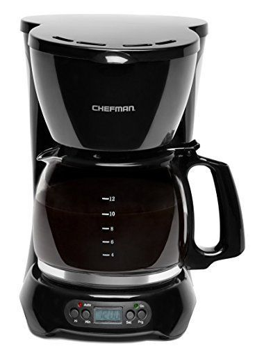 Programmable Coffee Maker With Thermal Drip Free Carafe Permanent