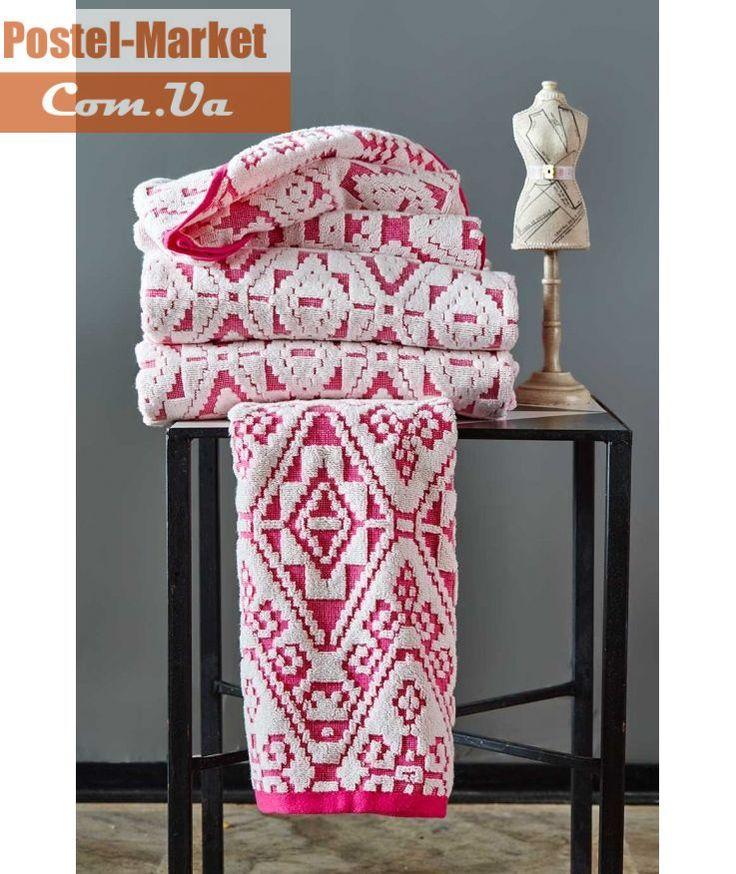 Махровое полотенце PEACE FUSYA KARACA HOME купить в интернет магазине Постель Маркет (Киев, Украина )