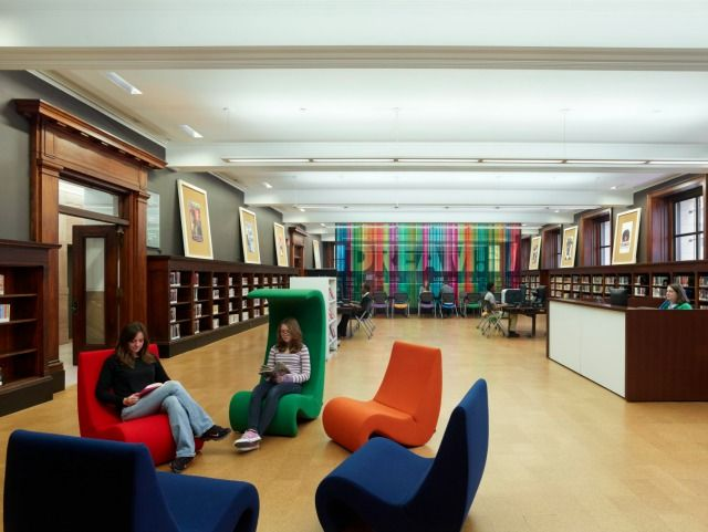 24 best images about Library on Pinterest Barking Cafe seating