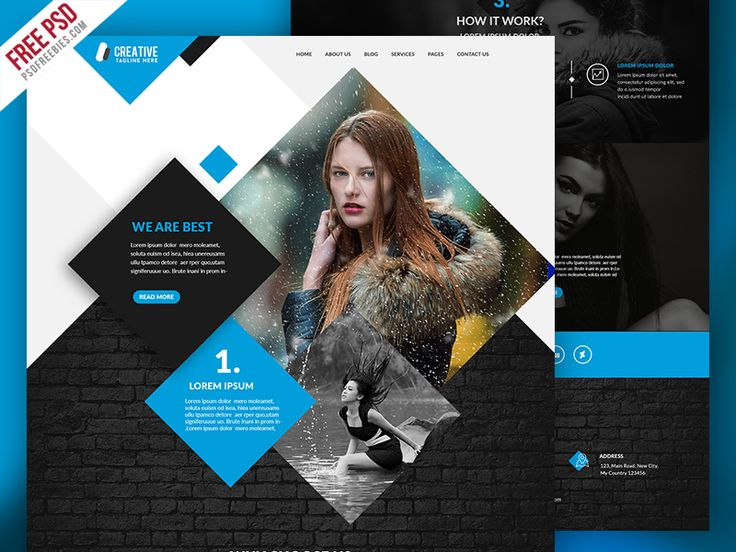 Download Multipurpose Portfolio Website Template Free PSD. It is suitable for any small business, corporate, creative agency or photography business. This Multipurpose Portfolio Website Template Free PSD is a uniquely designed website template and designed in Photoshop