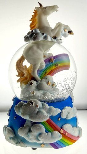 "Sculptured Mystic Unicorn Snow Globe - Water Ball Musical "" the Unicorn "" 7 3/4"" High Musical Snow Globes http://www.amazon.com/dp/B0066TQPSA/ref=cm_sw_r_pi_dp_tKn5ub0YZR8X9"