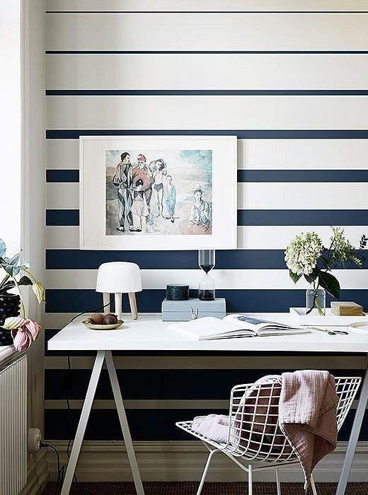 Wallpaper is back in a big way, and it's more accessible and stylish than ever before. If you're wanting to dip your toe in the trend, why not start with a classic motif such as stripes? Will Taylor of Bright.Bazaar has rounded up the best ways to use striped wallpaper in your home, showing that whether your style is traditional, minimalist, or a bit of both, there's a stripe for you.