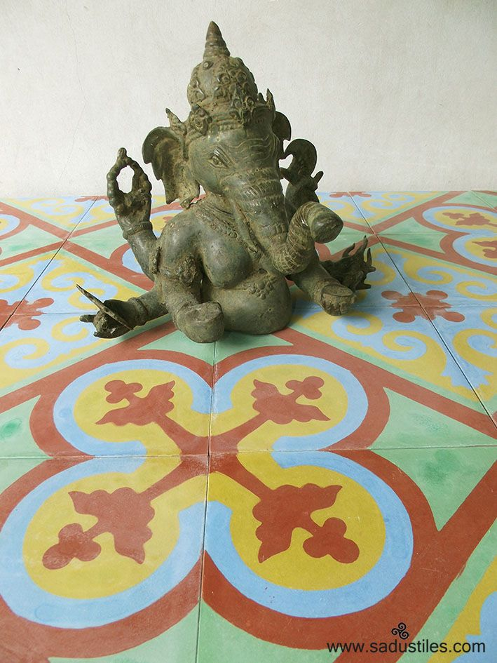 Sadus Tiles hand made cement tiles on order from Bali