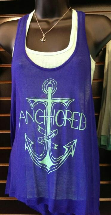 Anchored....on the beach!