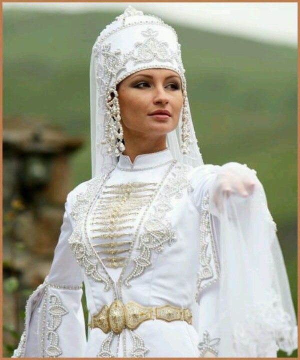 16 curated traditional circassian bridal dress ideas by for Free wedding dresses for military brides