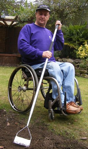 276 best gardening for disabled images on pinterest for Gardening tools for disabled