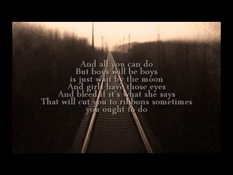 "▶ The Gaslight Anthem - Here's Looking At You Kid (Lyrics) - YouTube  ""I would have sang out your name in those old high school halls"""