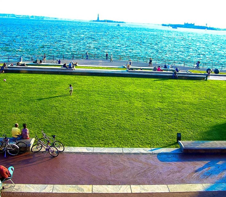 Getting Out of The Comfort Zone While Walking On Battery Park