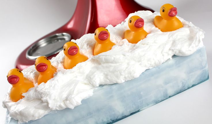 Ducks in a row soap.