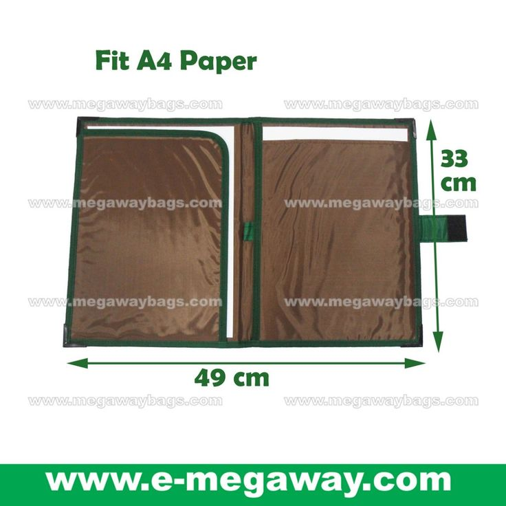 #A4 #Paper #Document #Folder #Hard-board-Inside #Writing #Marking #Coaching #Coach #Data #Collect #Note #Pad #Green #Portfolios #Promotion #Megaway #MegawayBags #CC-1332, Books, Stationery on Carousell
