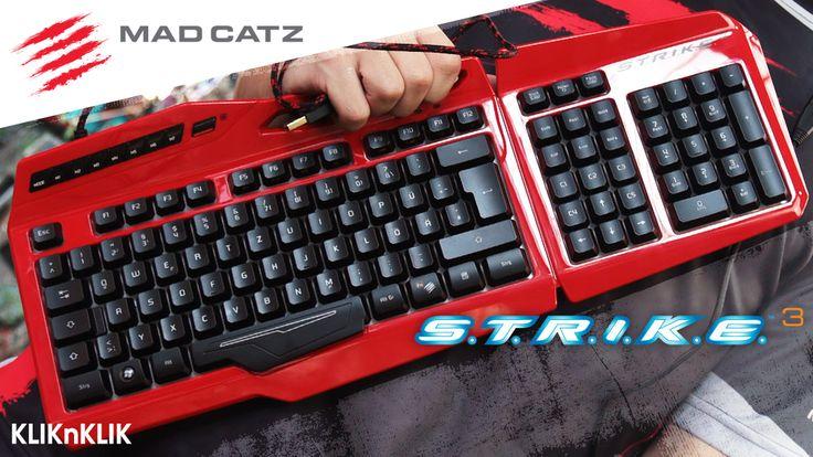 Main game jadi lebih Pede dengan Madcatz S.T.R.I.K.E.3 gaming keyboard yang menakjubkan, design yang keren, dan respon yang lebih cepat.  Beli disini http://j.mp/2a7UHOn
