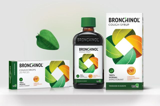 BRONCHINOL (Concept) on Packaging of the World - Creative Package Design Gallery