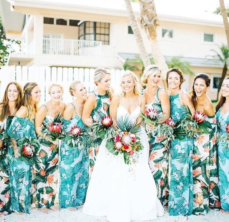 Tropical bridesmaid dresses show me your mumu for Beach wedding bridesmaid dresses pinterest