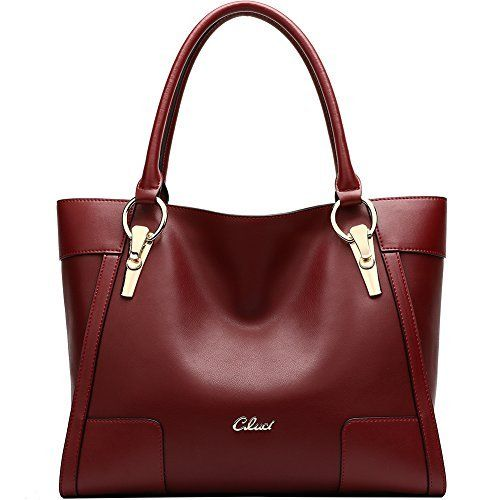 New Trending Shoulder Bags: CLUCI Womens Leather Designer Handbag Shoulder Bags Tote Purse Bag on Clearance. CLUCI Women's Leather Designer Handbag Shoulder Bags Tote Purse Bag on Clearance  Special Offer: $68.98  411 Reviews Upper Material:Cow Leather Lining Material:Fabric Show Color:Black, Wine Red Weight:1 kg (Actual weight varies) Shipping Area:Global Style:OL Style Item Model...