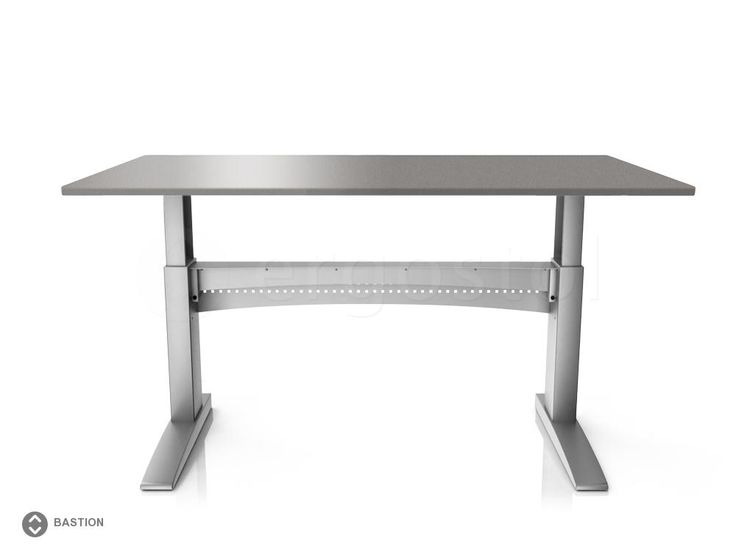 Стол с повышенной устойчивостью ErgoStol Bastion регулируемый по высоте для работы стоя и сидя