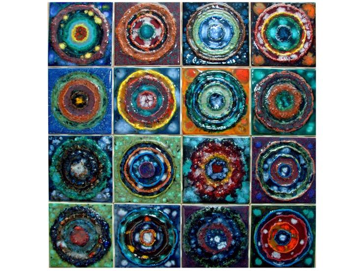 Galaxies-Celestial Wonders - Heavenly Spheres I - elevated surface