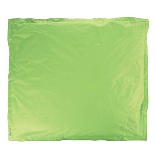 Cuscino verde da pavimento in tessuto 132 x 152 cm MULTICO