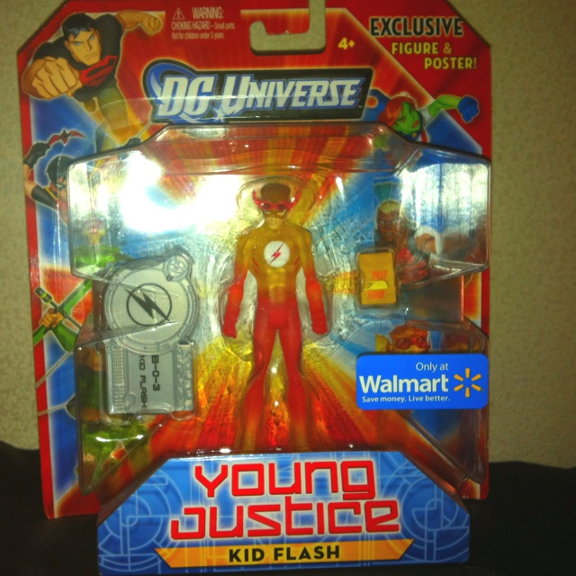 DC Universe Young Justice  Kid Flash Wal-Mart Exclusive  #DCcomics #DCuniverse #youngjustice #kidflash #wallywest #walmartexclusive