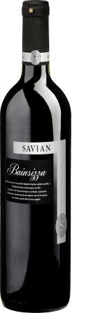 Bainsizza Savian 2005, Cabernet Sauvignon and Merlot, red wine