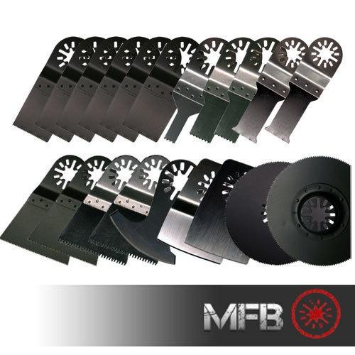20 Piece Oscillating Multi Tool Blades Kit Multimaster Bosch Dremel Multi Max | eBay