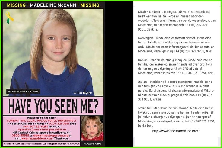 Madeleine McCann Facebook: 83 Best Images About Missing Madeleine McCann On Pinterest