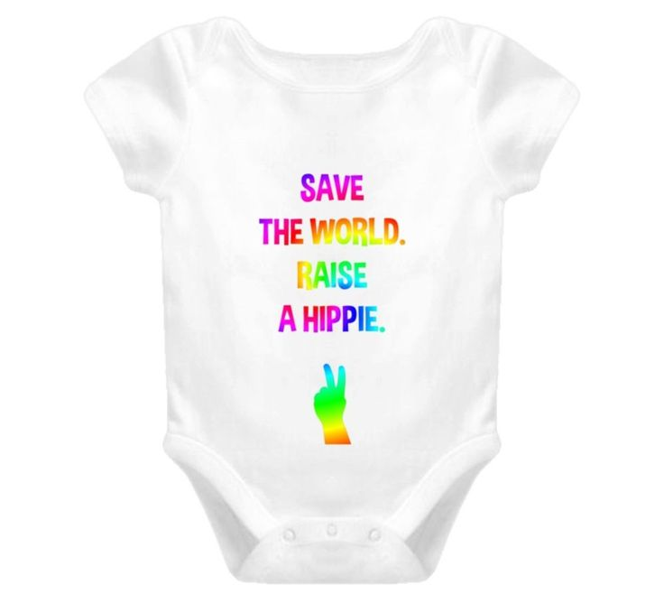 Baby One Piece, Baby Boy Clothes, Baby Girl Clothes, Hippie Clothing, Baby Shower, Baby Shower Gifts, Peace