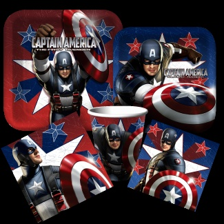 Captain America Party Supplies from www.DiscountPartySupplies.com