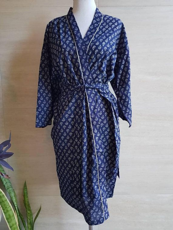Check out this item in my Etsy shop https://www.etsy.com/au/listing/586562516/cotton-robe-cottonkimono-indian-block