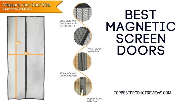 Magnetic Screen Door Measurements