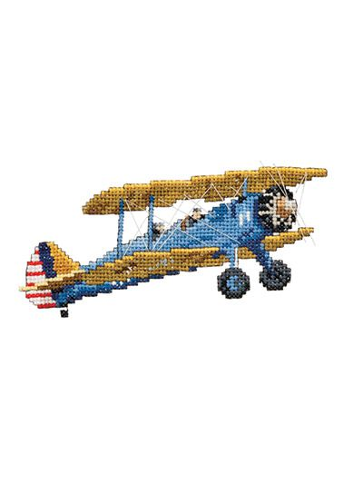 Stitched using simple cross stitch, backstitch and straight stitch, these designs will make the perfect gift for your favorite pilot or airplane enthusiast. This e-pattern was originally published in the June 2015 issue of Just CrossStitch magazine. ...