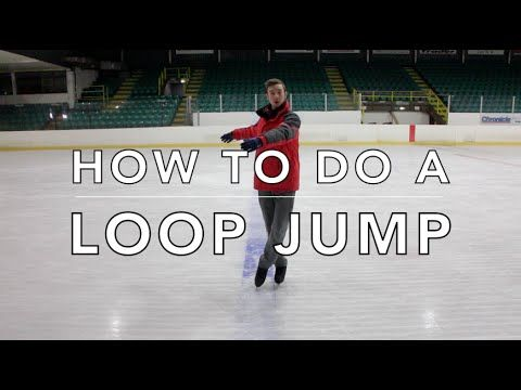 HOW TO DO A LOOP JUMP | FIGURE SKATING ❄️❄️ - YouTube