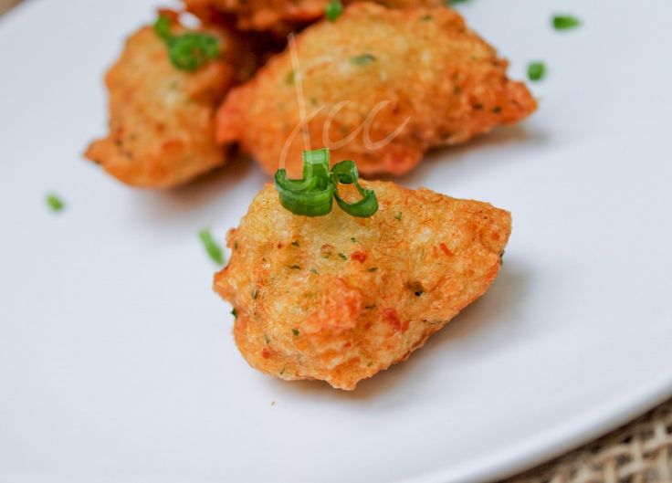 Jamaican Fritters--- bring a little island into your home.