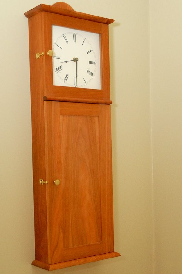 Shaker wall clock kit woodworking projects plans for Shaker wall clock kit