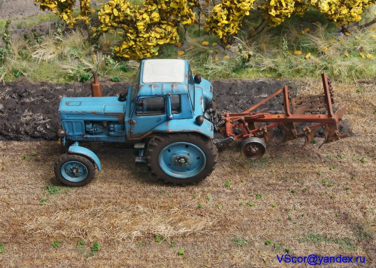 Tractor model  #machinery #equipment #agriculture #agricultural #tractor #toy