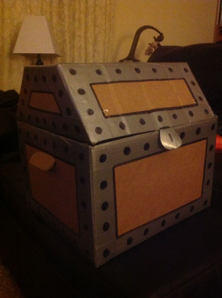 Ideas about treasure chest craft on pinterest