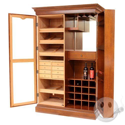 Czar Cigar Bar Cabinet Humidor - Cigars International