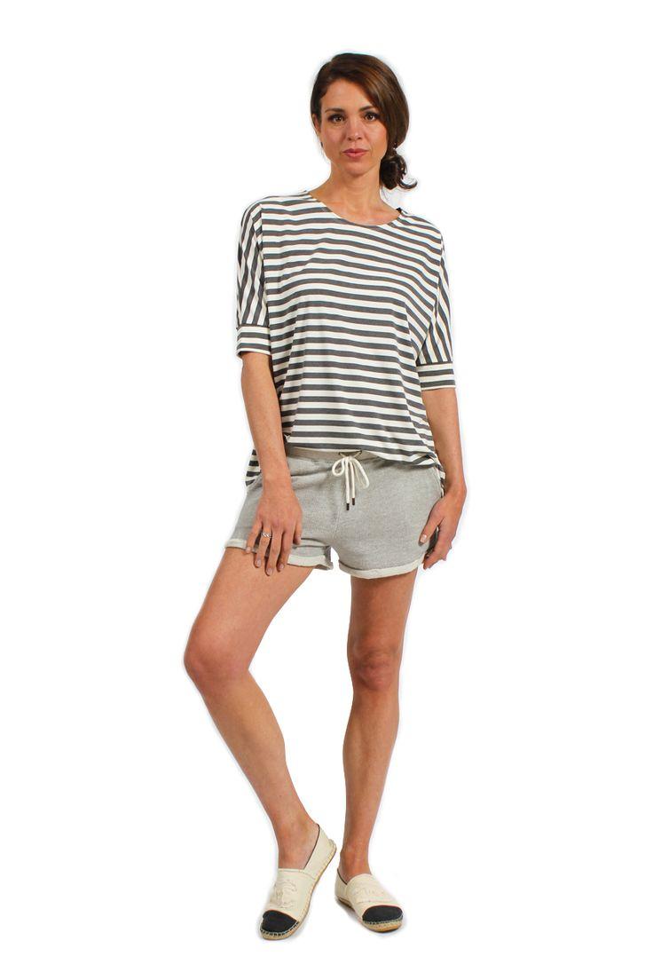 Stripe Sportif Shirt - Surafina