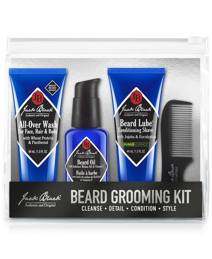 jack black beard grooming kit shops beard grooming and jack o 39 connell. Black Bedroom Furniture Sets. Home Design Ideas