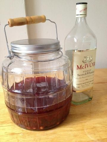 Outlander cherry bounce recipe - I'm buying the ingredients today.