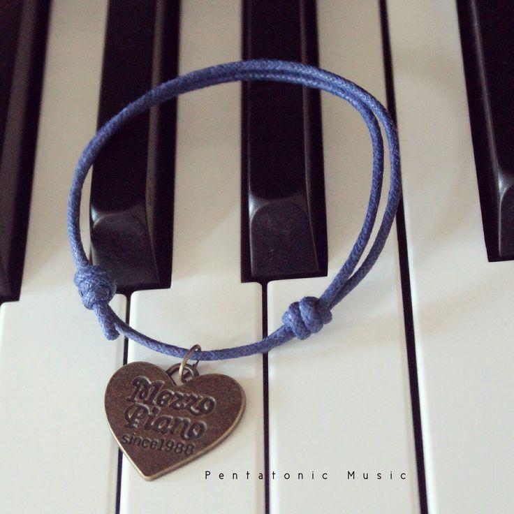 Musical Cotton Bracelet - Mezzo Piano  Price : 28.000 idr. follow instagram : pentatonicmusic or website http://pentatonic-music.com