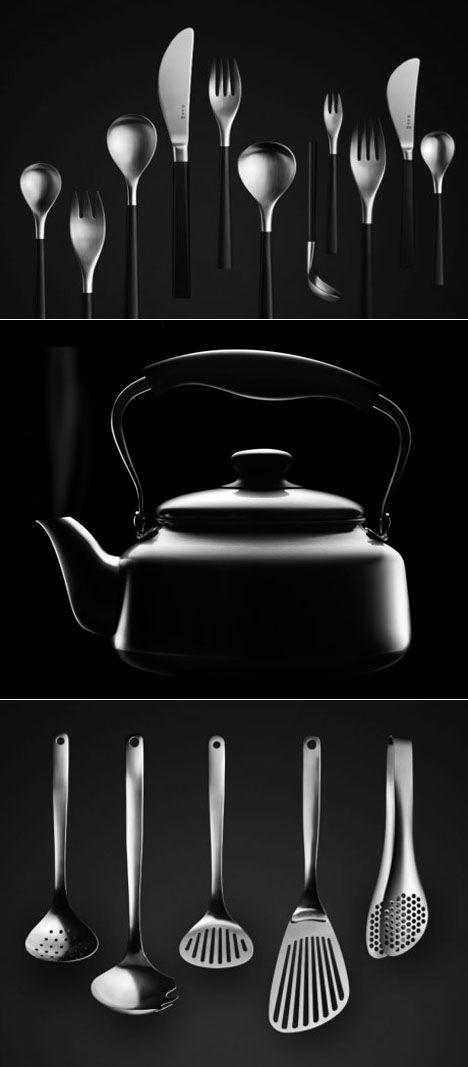 Kitchen utensils By industrial designer Sori Yanagi