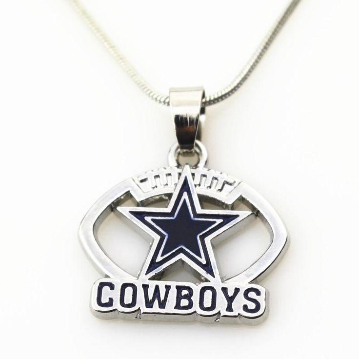 Dallas Cowboys NFL Necklace