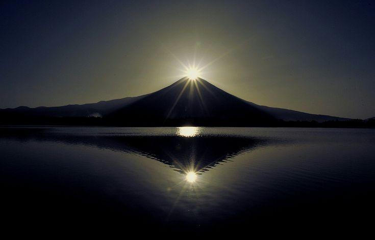 富士山 ダイヤモンド富士 田貫湖 | Sumally