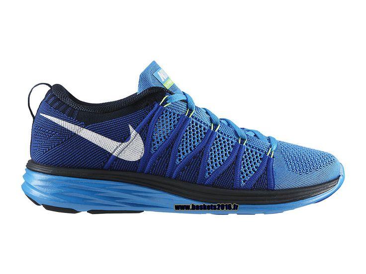 competitive price 80f90 3b218 nike flyknit lunar chaussures de running pas cher pour femme bleu violet  noir .