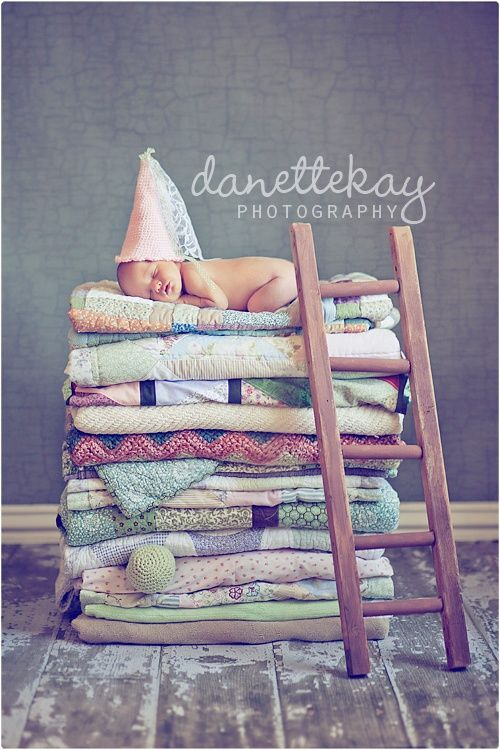 12 Picture Ideas using Ladders | capturing-joy.com