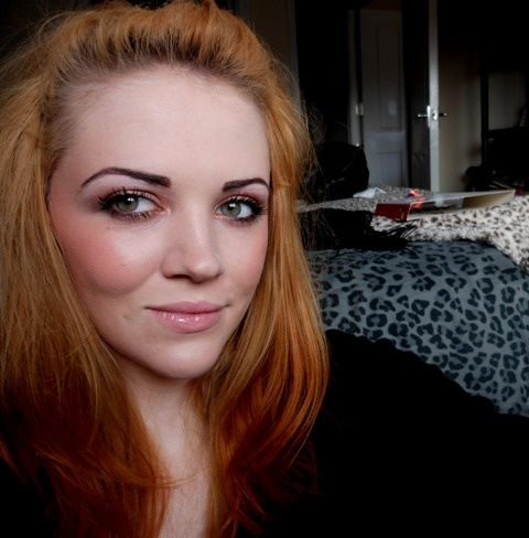 Emily Has Dimples: MUA Lovehearts Lip Balm & Single Eyeshadow Review & EOTD.