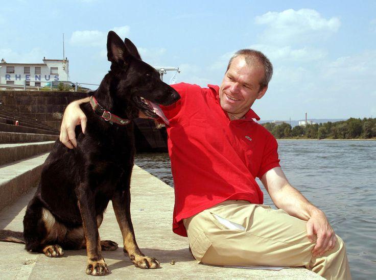 Uwe Boll & his GSD