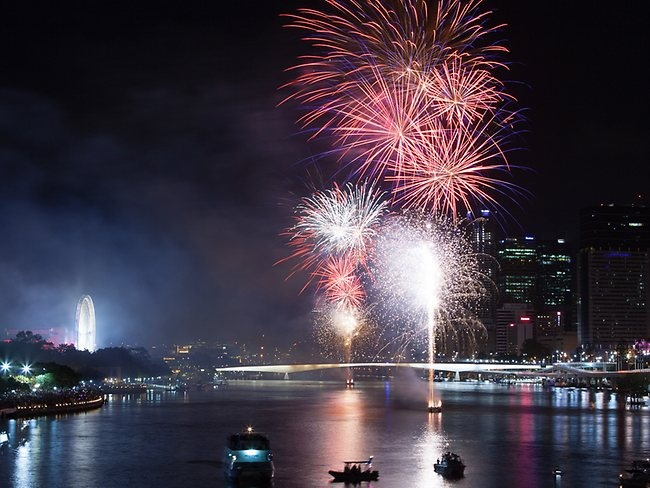 New Year Fireworks Brisbane | New Year in Queensland | The Courier-Mail