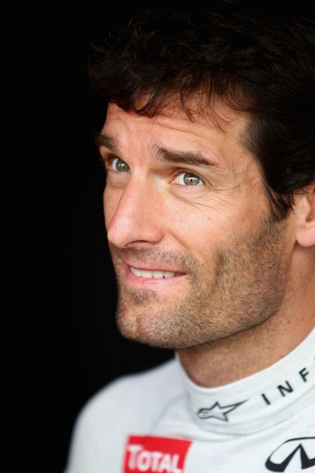 Good luck this weekend in your home race at the Australian GP, Mark Webber!