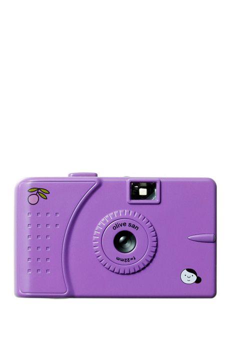 OLIVE SAN wide slim violetti filmikamera